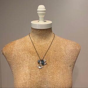 ⭐️4/$20 Nautical Bird & Anchor Charm Necklace